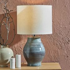 Avery Reactive Glaze Ceramic Table Lamp