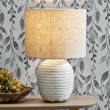Meadow Reactive Glaze Ceramic Table Lamp