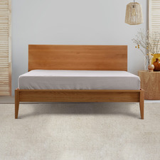 Dove Pure French Flax Linen Fitted Sheet
