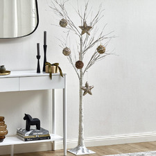 180cm Warm White LED Birch Twig Christmas Tree