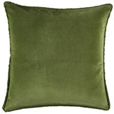Pine Plush Velvet European Pillowcases (Set of 2)