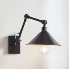 London Steel Wall Sconce