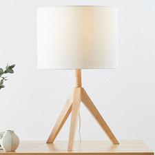 Natural Arena Tripod Table Lamp