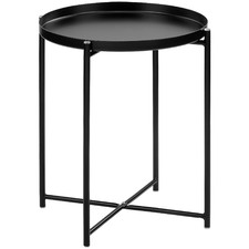 Maximus Steel Side Table