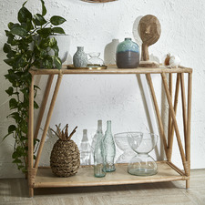 Natural Umiko Rattan Console Table