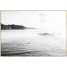 Surfscape Framed Canvas Wall Art