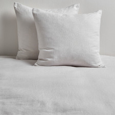 Dove Pure French Flax Linen European Pillowcases (Set of 2)