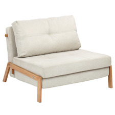 Brad Upholstered Single Sofa Bed