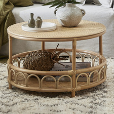 Timor Rattan Coffee Table