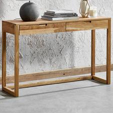 Olwen Oak Wood Console Table