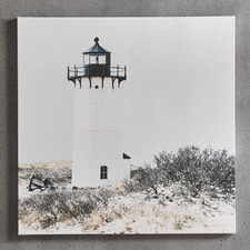 Lighthouse Dune Canvas Wall Art