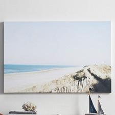 Coastline Landscape Canvas Wall Art