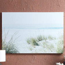 Faded Beach Footpath Canvas Wall Art