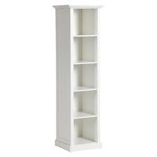White Hamptons Small Closed Bookshelf