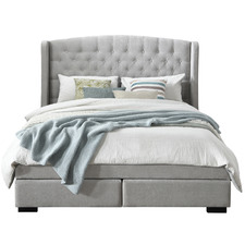Pearl Warner Premium 2 Drawer Upholstered Bed