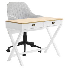 2 Piece Southampton Office Desk & Kinsey Office Chair Set