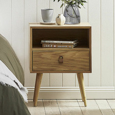 Oak Luna Bedside Table