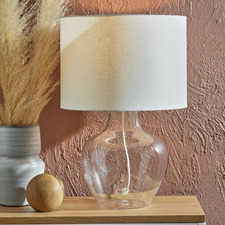 Cove Glass Table Lamp