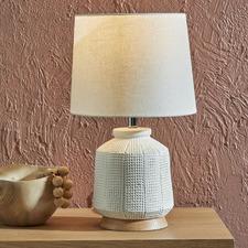 Olive Ceramic Table Lamp