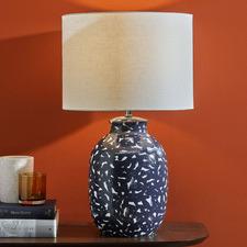 Inez Painted Ceramic Table Lamp