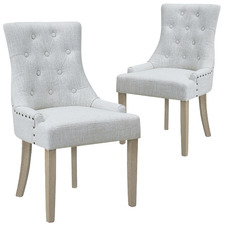 Windsor Scoop Back Dining Chairs (Set of 2)