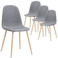 Milford Fabric Dining Chairs (Set of 4)