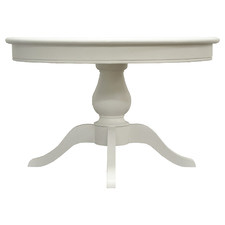 Antique White Kavala Round Dining Table