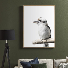 Kookaburra Friend Framed Canvas Wall Art