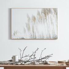 60 x 90cm Sunshine Pampas Framed Canvas Wall Art