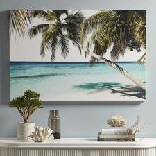 Tropical Paradise Canvas Wall Art