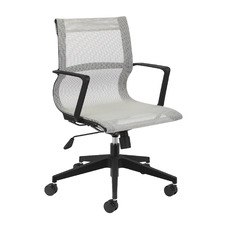 Grey Mesh Management Office Chair