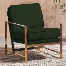 Knox Velvet Armchair