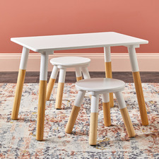 Kid's Keppara 2 Seater Table & Stools Set