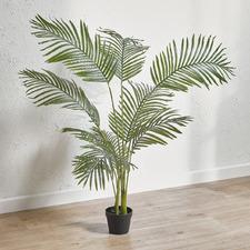 95cm Potted Faux Areca Palm Plant