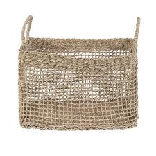 Cabarita Rectangular Seagrass Basket