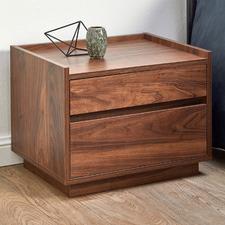 Walnut Rhet Bedside Table