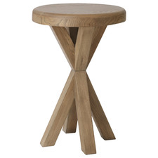 Rustic Timber Perry Side Table