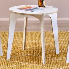 Kids' 60cm White Finn Table