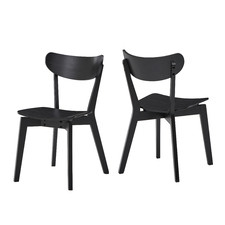 Larsen Wooden Dining Chairs (Set of 2)