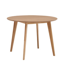 Natural Larsen Round Wooden Dining Table
