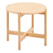 Natural Nibesh Oak Wood Side Table