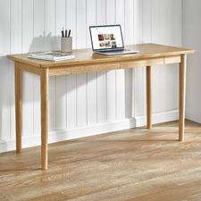 Dion 2 Drawer Parquet Desk
