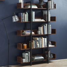 Large Karloff 5 Tier Bookshelf