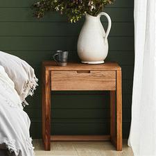 Olwen Oak Wood Bedside Table