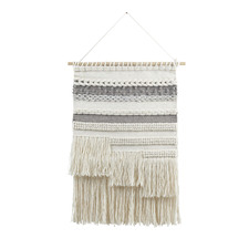 Lacey Hand-Woven Wall Hanging