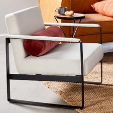 Dumont Linen Armchair