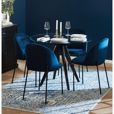 4 Seater Anders Dining Table & Aria Dining Chair Set