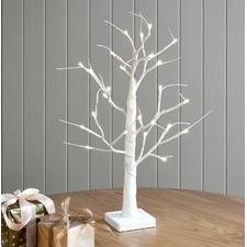 60cm LED Glitter Table Tree
