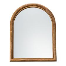 Arlo Arched Rattan Wall Mirror