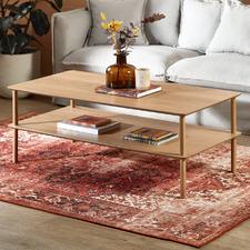 Natural Banjo 120cm Coffee Table